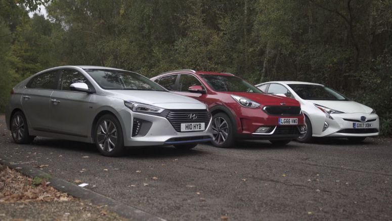 Toyota Prius Vs Hyundai Ioniq and Kia Niro