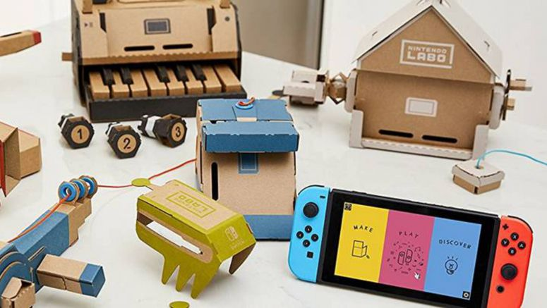 Preorder Nintendo Labo Kits For The Switch