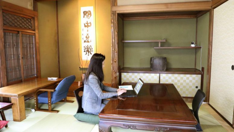 Enterprising companies make work for idle rooms in Japan