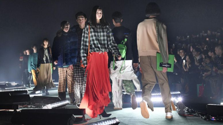 Tokyo fashion week opens to showcase 2018 autumn, winter designs