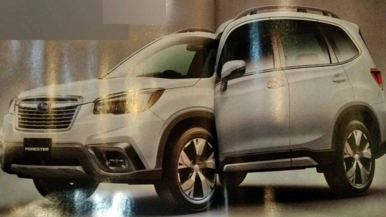 2019 Subaru Forester Appears To Leak Ahead Of New York Debut