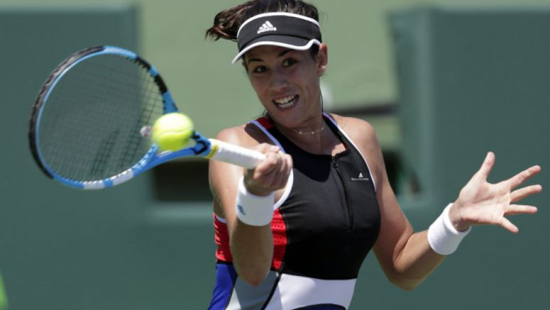 Tennis: Garbine Muguruza opts for relaxed approach at French Open
