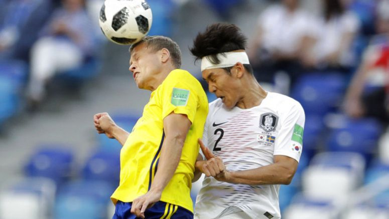 Soccer: Sweden gets benefit of video review, beats South Korea 1-0