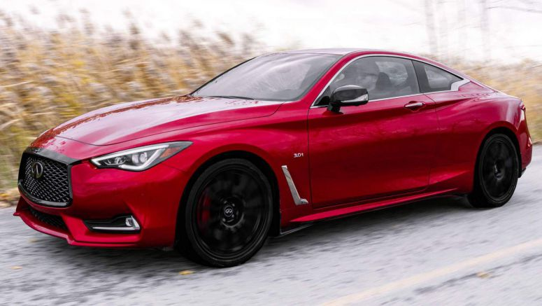 Infiniti Canada Spruces Up Q50 And Q60 Red Sport With I-Line Editions