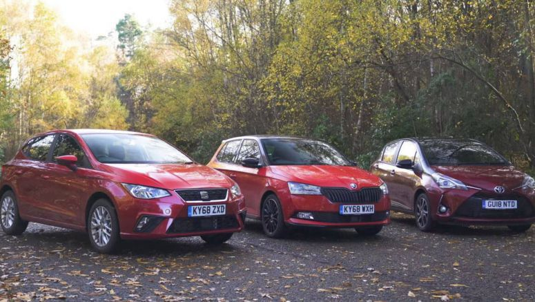 Choose A Supermini: Seat Ibiza vs Skoda Fabia vs Toyota Yaris