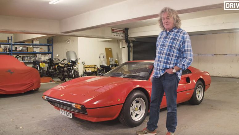 James May Horrified To See Honda Valve Caps On His Ferrari 308 GTB