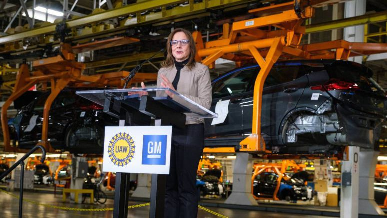 GM's $300 Million Orion Plant Investment To Spawn New Chevy EV, 400 Jobs