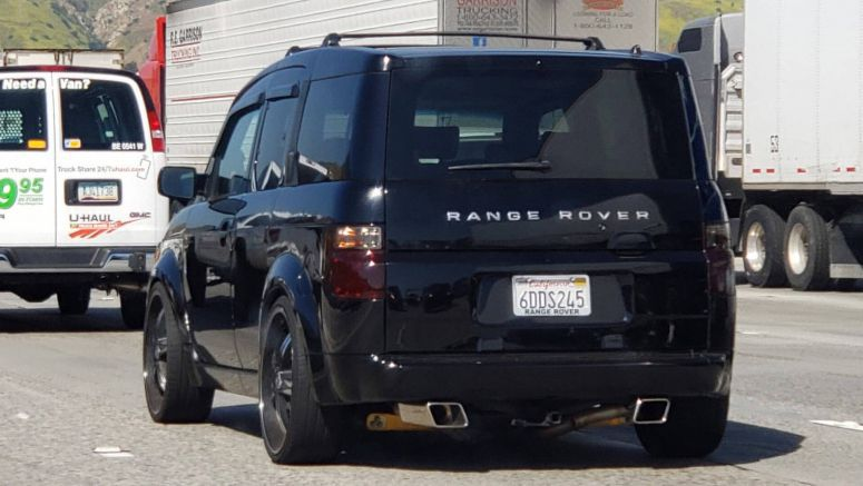 Strange Rover: Honda Element Owner Loves British Luxury SUV's… Badges