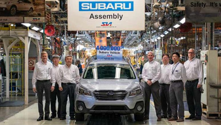 Subaru of Indiana produces its 4 millionth Subaru, but that's not all
