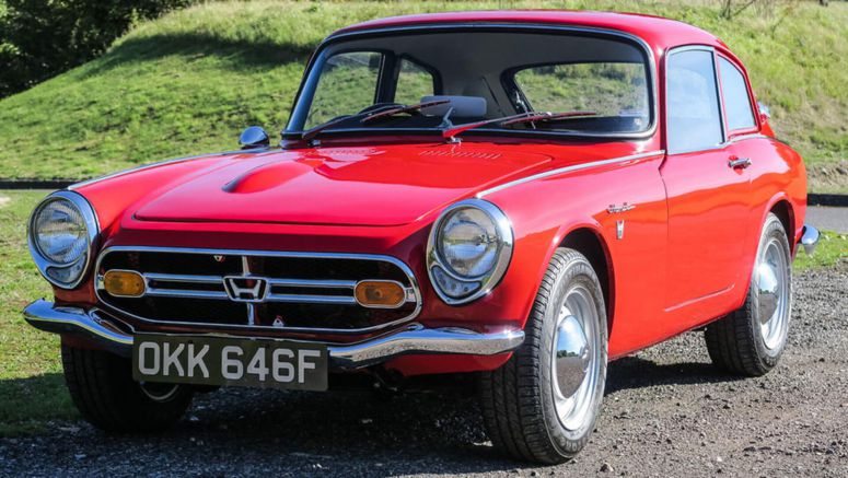 1967 Honda S800 Is The S2000's Grandfather, Revs To 10,000 RPM