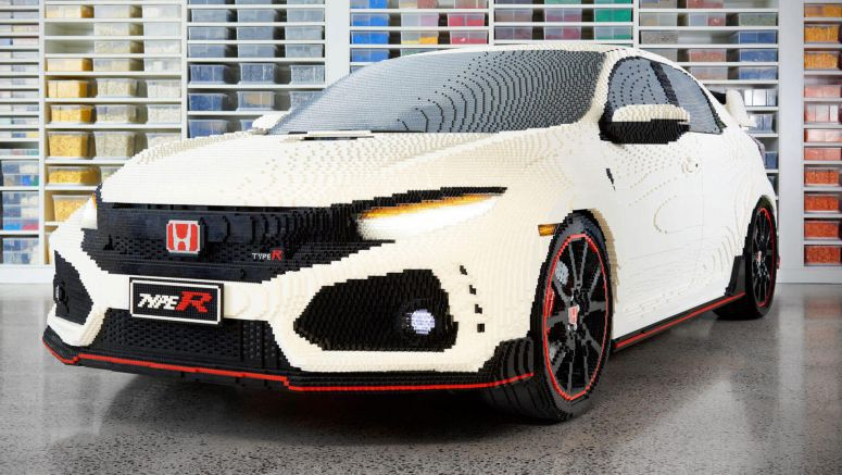 Honda Civic Type R Joins The Exclusive Full-Size LEGO Club