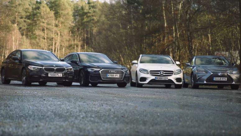 Can The Lexus ES Really Take On The Audi A6, BMW 5-Series And Mercedes E-Class In Europe?