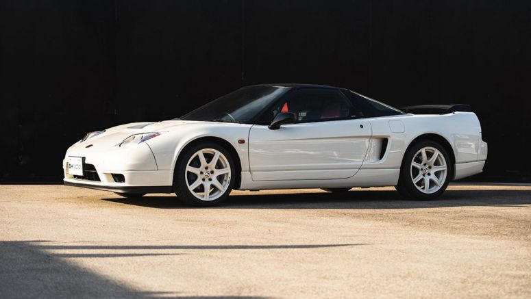 Pair of perfect Honda NSX Type Rs go up for auction in Tokyo