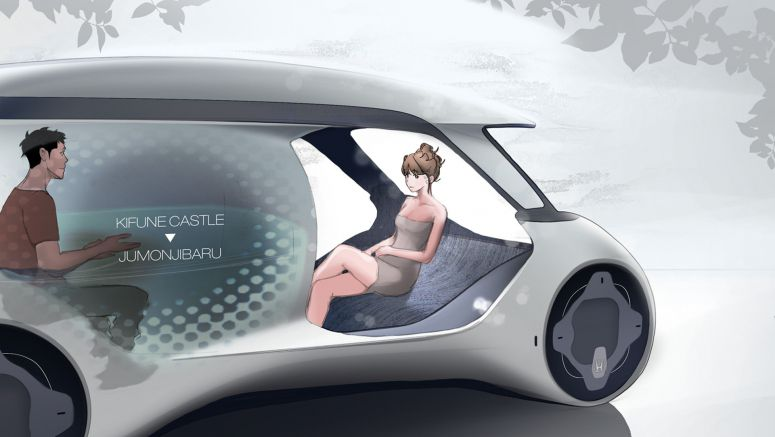 Honda City Car Lets You Take A Hot Bath And Relax While Being Driven Around