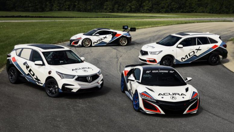 Acura Pikes Peak lineup is out, and there's a race-prepped MDX Sport Hybrid
