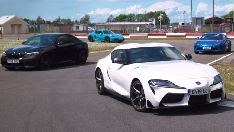 The New Toyota Supra Faces Its Fiercest Rivals From Porsche, BMW And Alpine; Can It Come Out On Top?