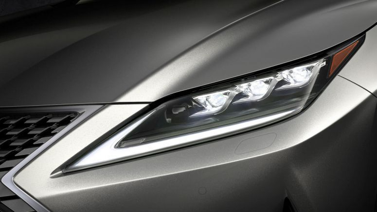 2020 Lexus RX Getting Innovative LED Headlights As A World-First