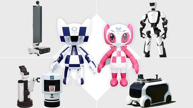 Toyota Introduces Robotic Mascots And Pint-Sized Autonomous Vehicle For 2020 Tokyo Olympics