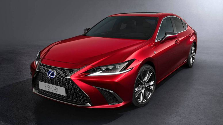 Lexus ES 300h F Sport Brings Sharp Looks And Adaptive Suspension To Australia