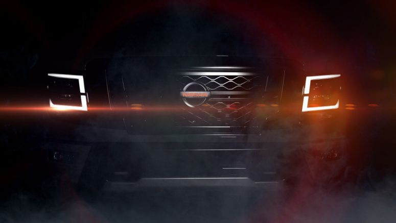 2020 Nissan Titan Facelift Teased, Debuts On September 26