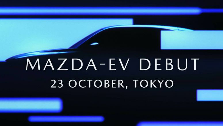 Mazda EV Teased Once More, Looks Like A Coupe Crossover