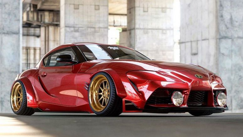 Custom 2020 Toyota Supra Render Looks Worthy Of SEMA