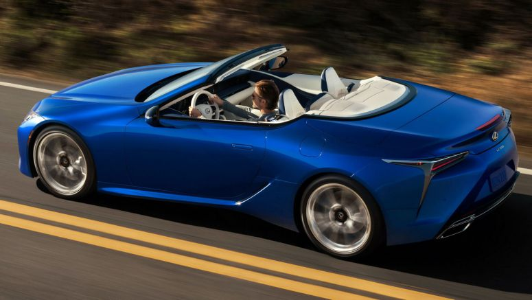 The New 2021 Lexus LC500 Convertible Gives Us Tingles