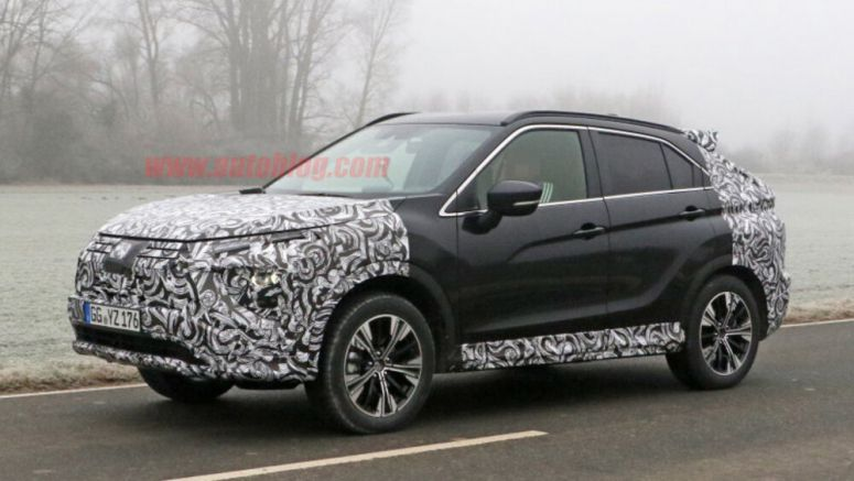 Mitsubishi Eclipse Cross refresh spied