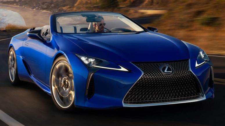 2021 Lexus LC500 Convertible Inspiration Series VIN #01 Sells For $2 Million