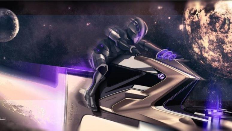 Lexus designers create lunar rover concepts