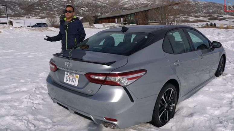 Review: 2020 Toyota Camry AWD Is Quite Fun To Drive In The Snow