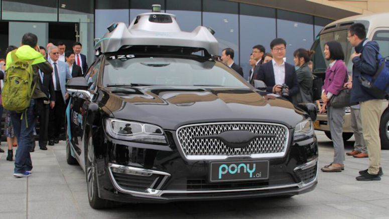 Toyota bets millions on a Pony: Chinese autonomy startup Pony.ai
