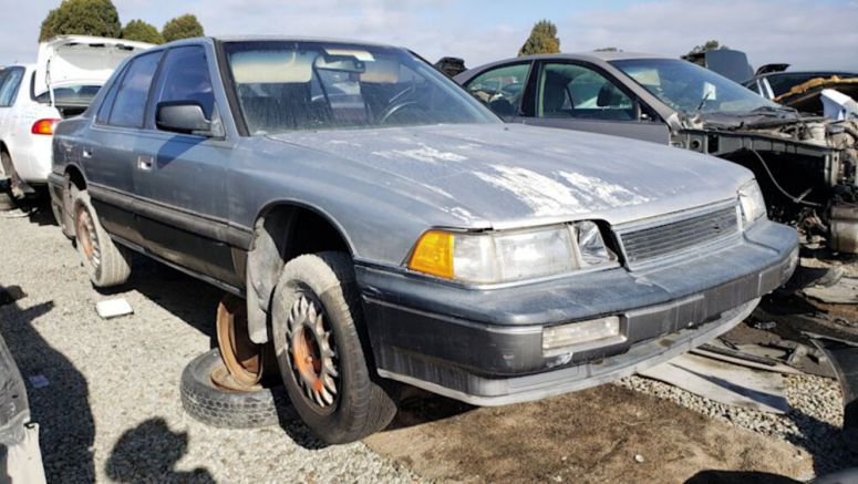 Junkyard Gem: 1987 Acura Legend Sedan