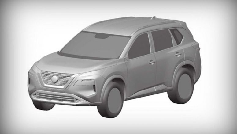 Leaked patent images reveal new 2021 Nissan Rogue