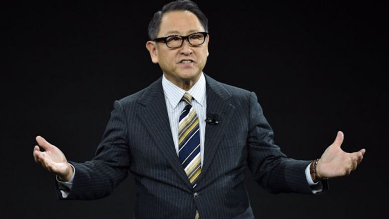 Akio Toyoda says Japan will protect auto industry jobs in coronavirus crisis