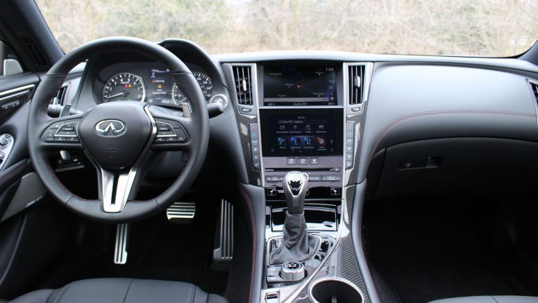 2020 Infiniti Q60 Infotainment Driveway Test | Video, photos, tech