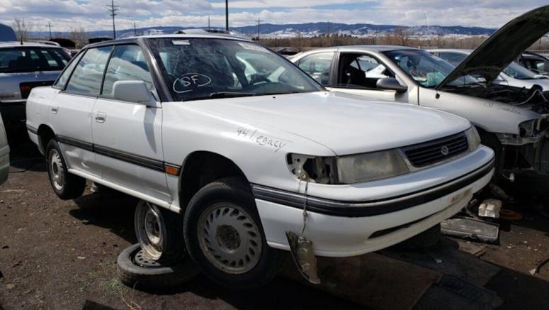 Junkyard Gem: 1994 Subaru Legacy LS 4WD Sedan