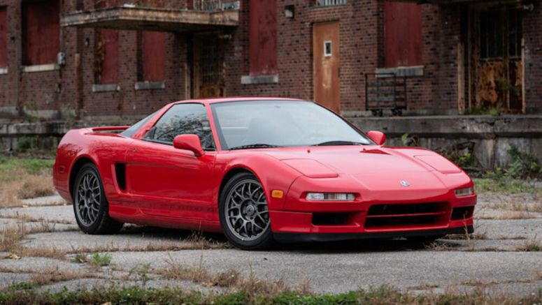 1999 Acura NSX Zanardi Edition brings in $135,000 on Bring a Trailer