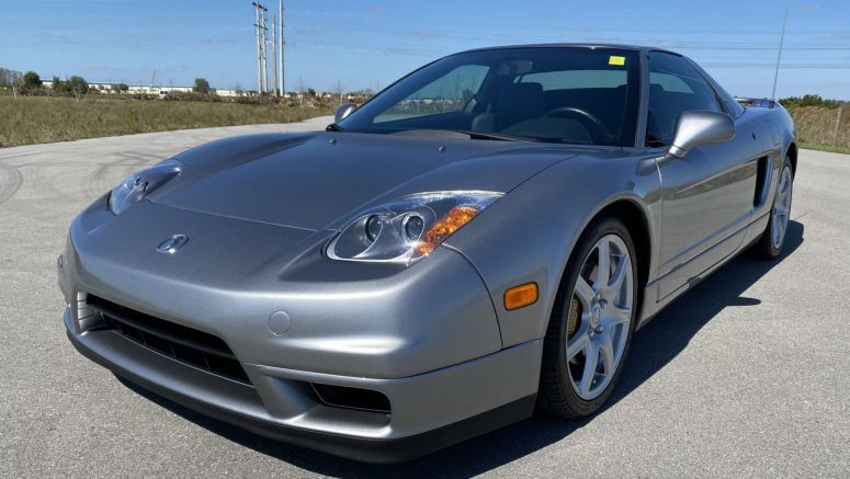 Can You Believe This 2004 Acura NSX-T Was Only Driven 1,900 Miles Since New?