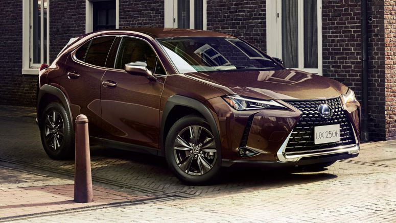 Japan Gets Exclusive Lexus UX250h 'Brown Edition'