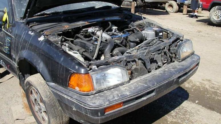 Junkyard Gem: 1988 Mazda 323 GTX