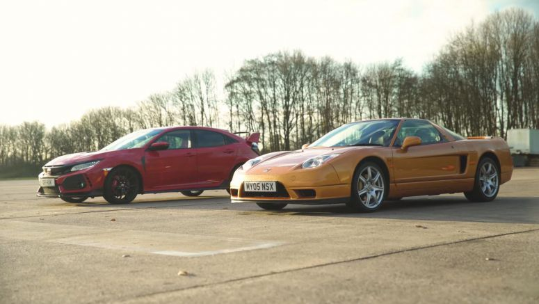 Can The Original Honda NSX Stand Up To A Modern Civic Type R?