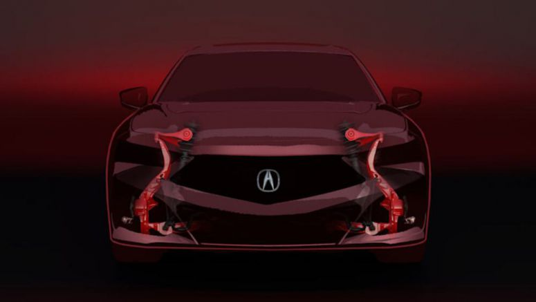 2021 Acura TLX to use dedicated platform and wishbone front suspension