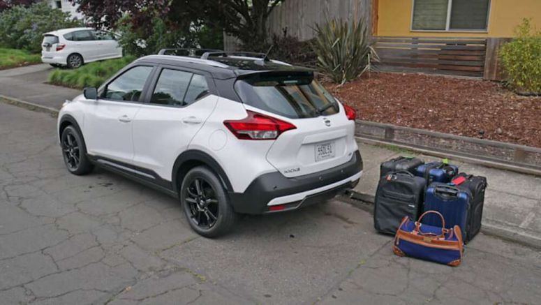 2020 Nissan Kicks Luggage Test | How big is the trunk?