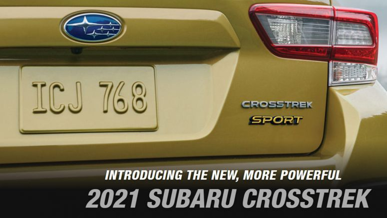 2021 Subaru Crosstrek Teased, New Sport Trim Confirmed To Be More Powerful