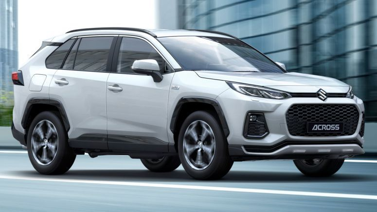 Suzuki's New Across Plug-In Hybrid SUV Is A Rebadged Toyota RAV4