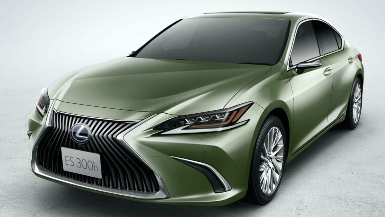 JDM 2021 Lexus ES 300h Gains New Lithium-Ion Battery For Better Fuel Economy