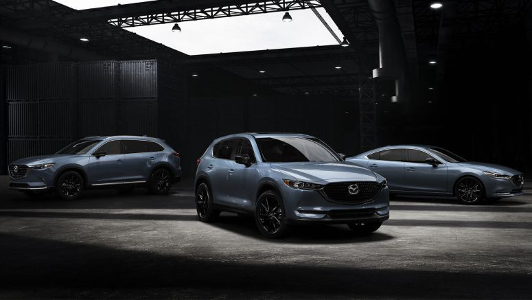 Mazda's New Carbon Editions Are Blackout Models You Can't Get In Black