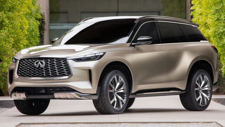 New Infiniti QX60 Monograph Previews A More Stylish Three-Row Crossover