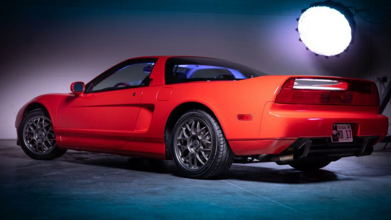 Mint 1999 Acura NSX Zanardi Edition Sells For An Unbelievable $277,000